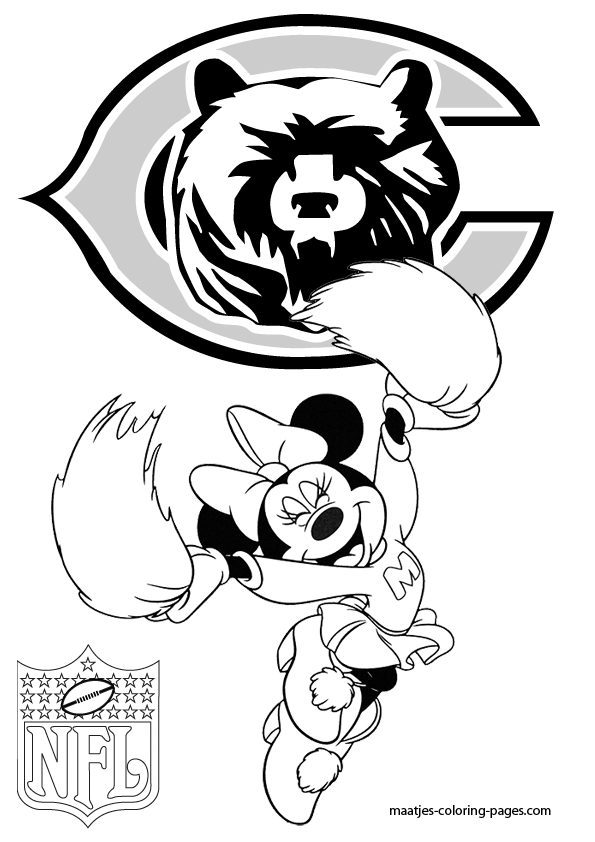 chicago bears coloring pages chicago bears coloring page twisty noodle bears pages chicago coloring
