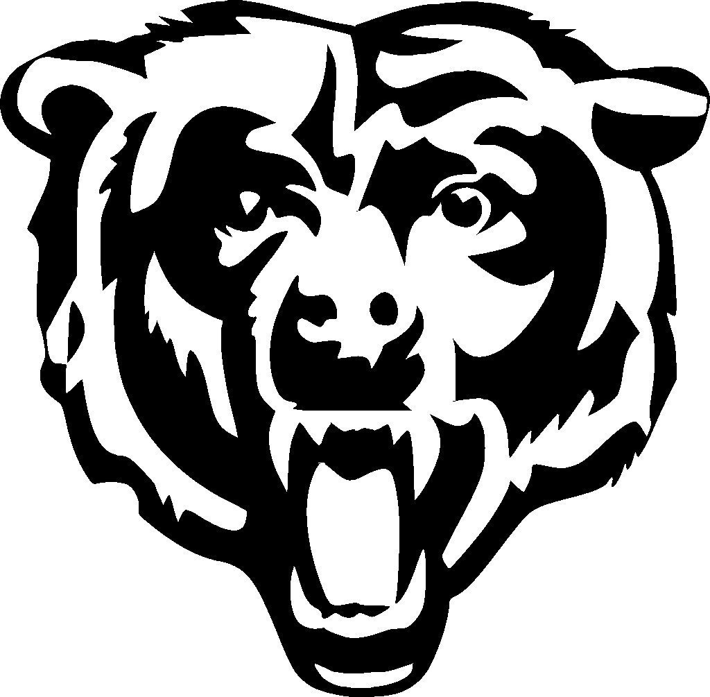 chicago bears coloring pages chicago bears coloring pages at getcoloringscom free coloring bears chicago pages