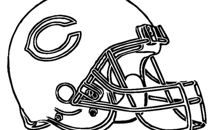 chicago bears coloring pages chicago bears coloring pages at getdrawings free download pages chicago coloring bears