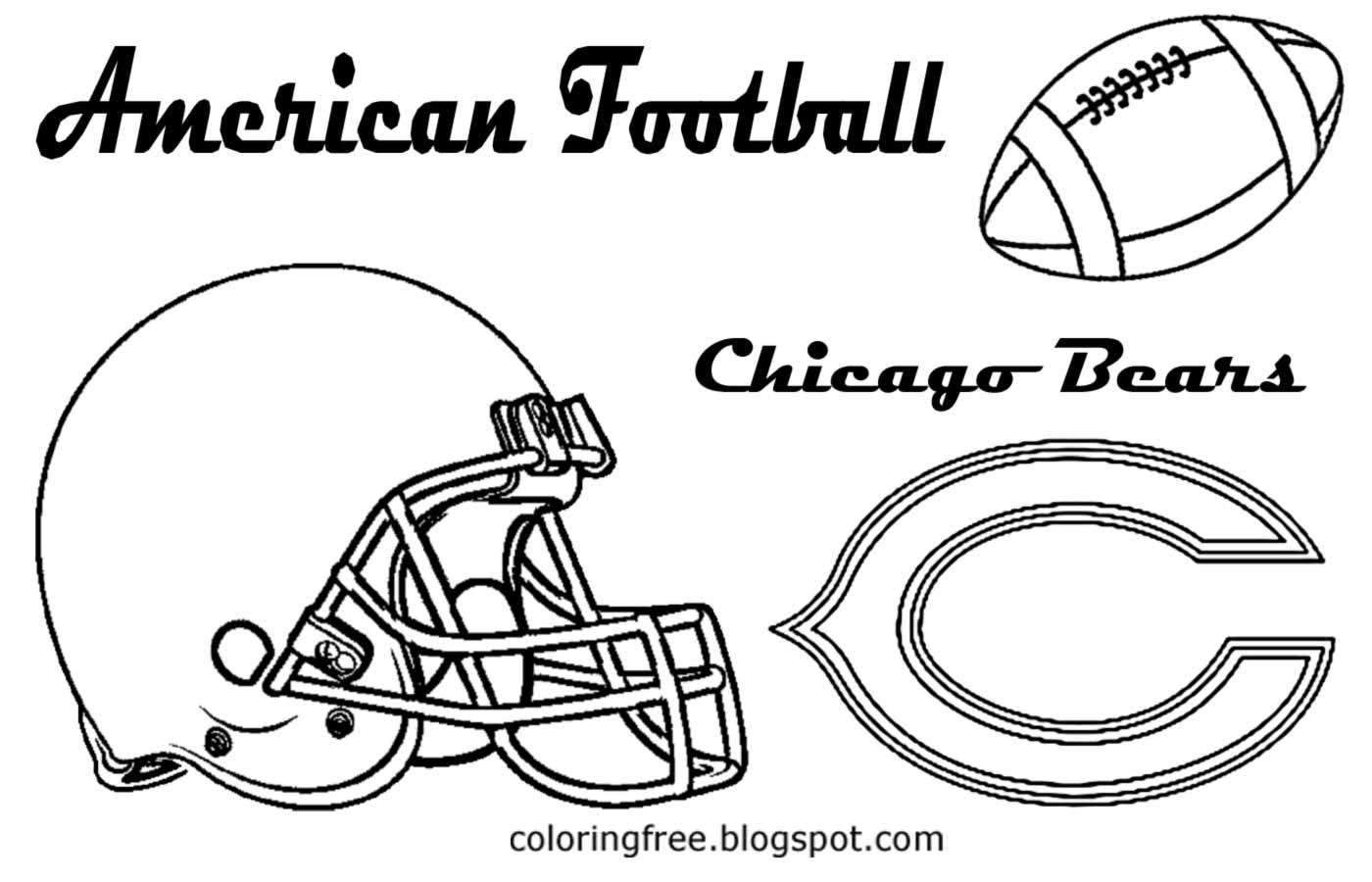 chicago bears coloring pages chicago cubs bear coloring page coloring pages bears chicago pages coloring