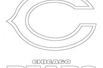 chicago bears coloring pages free coloring pages printable pictures to color kids bears coloring chicago pages