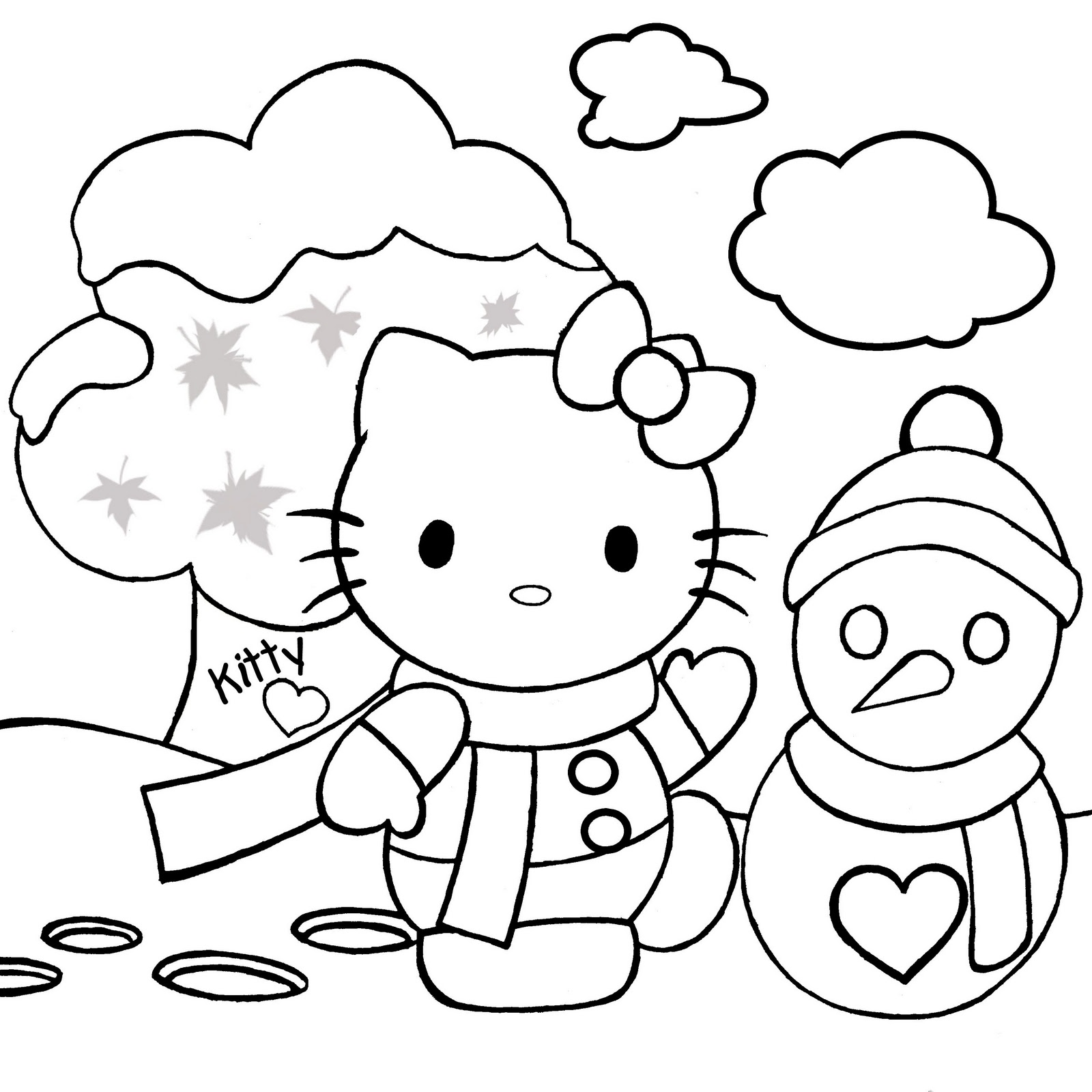 christmas coloring pages hello kitty free coloring pages printable pictures to color kids coloring christmas hello pages kitty