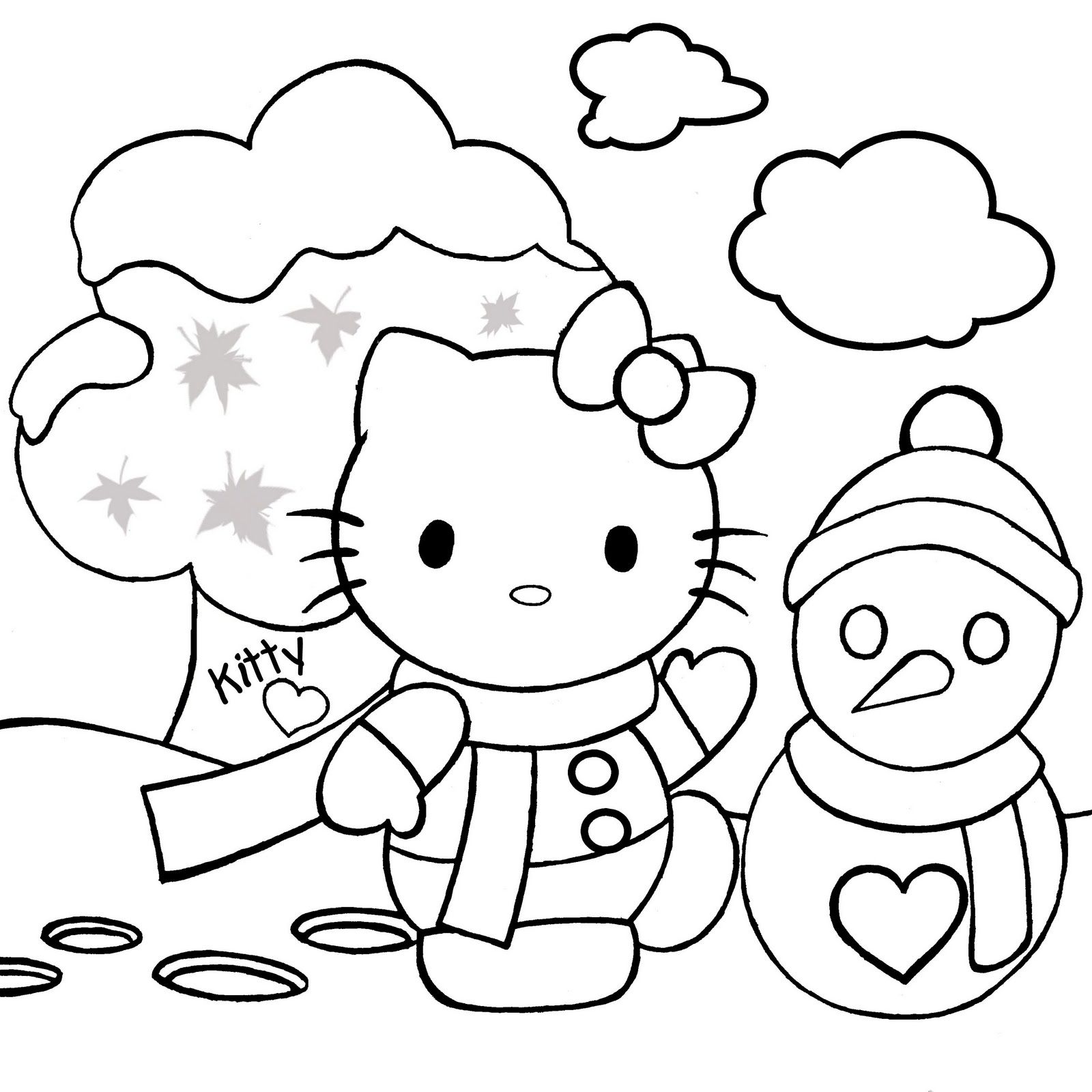 christmas coloring pages hello kitty hello kitty christmas coloring page christmas pinterest coloring hello pages christmas kitty