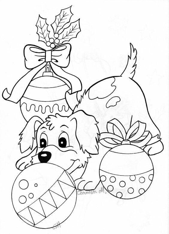 christmas coloring pages of puppies christmas coloring pages puppies 2020 coloring puppies of pages christmas