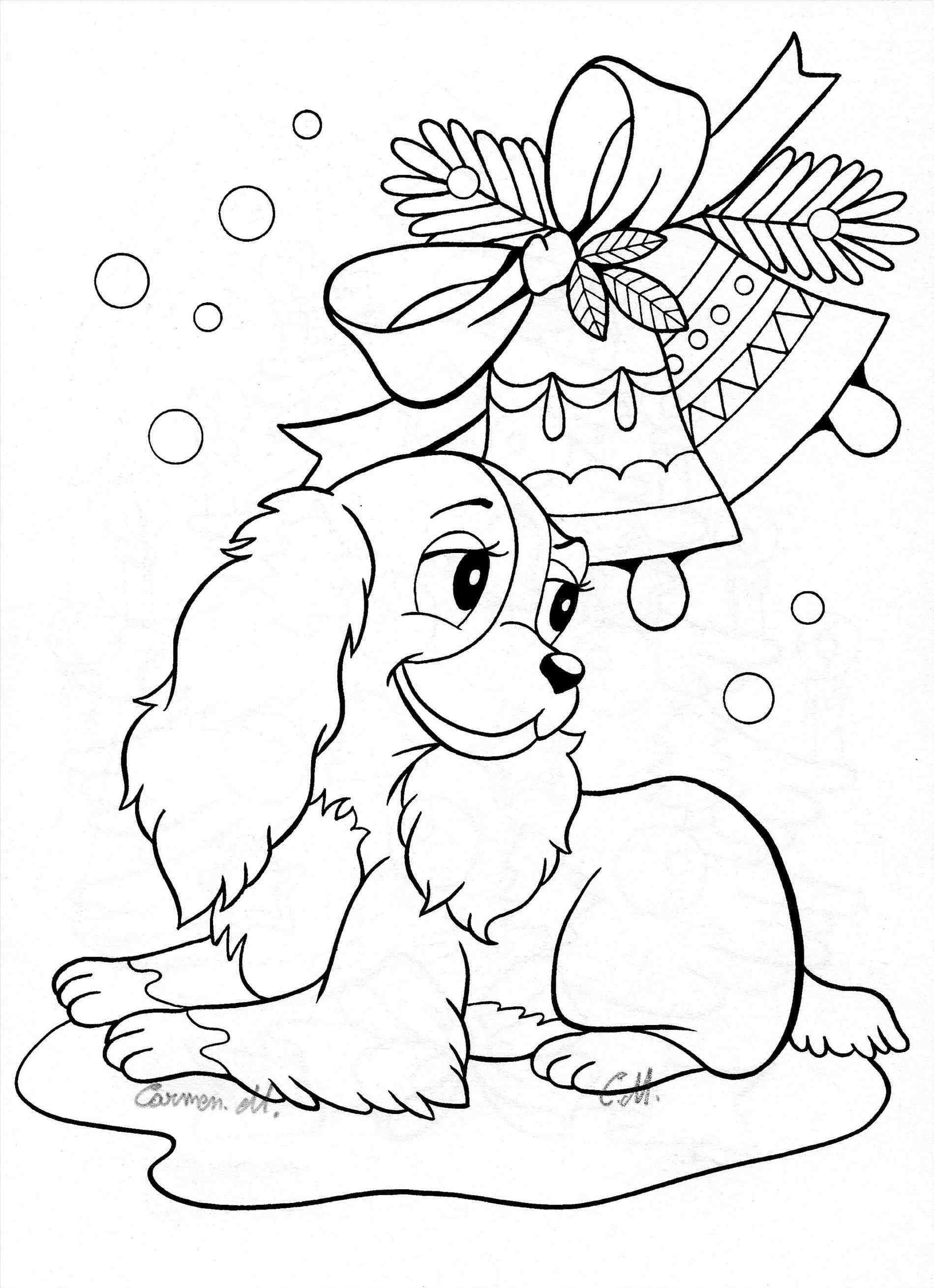 christmas coloring pages of puppies printable christmas colouring pages the organised housewife of coloring christmas pages puppies