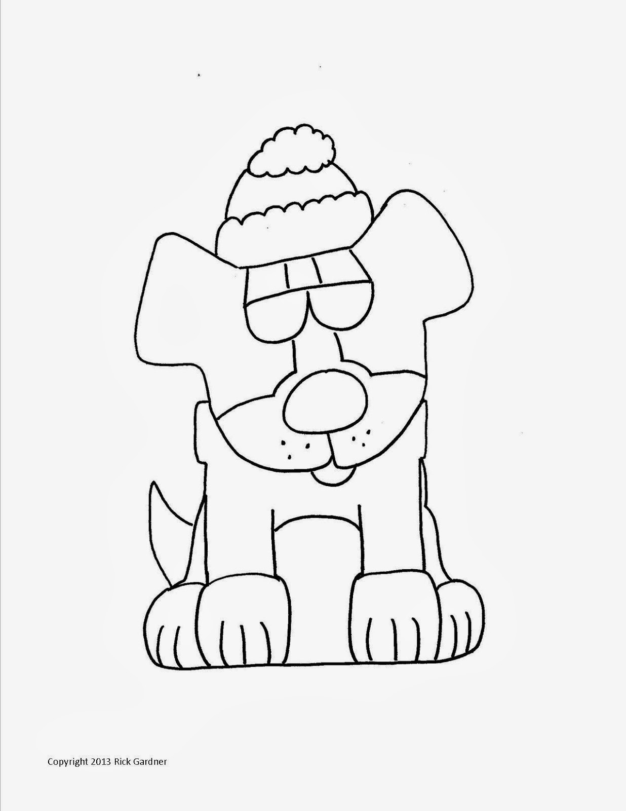 christmas dog coloring pages 11 best images of christmas number 17 worksheet pages coloring dog christmas