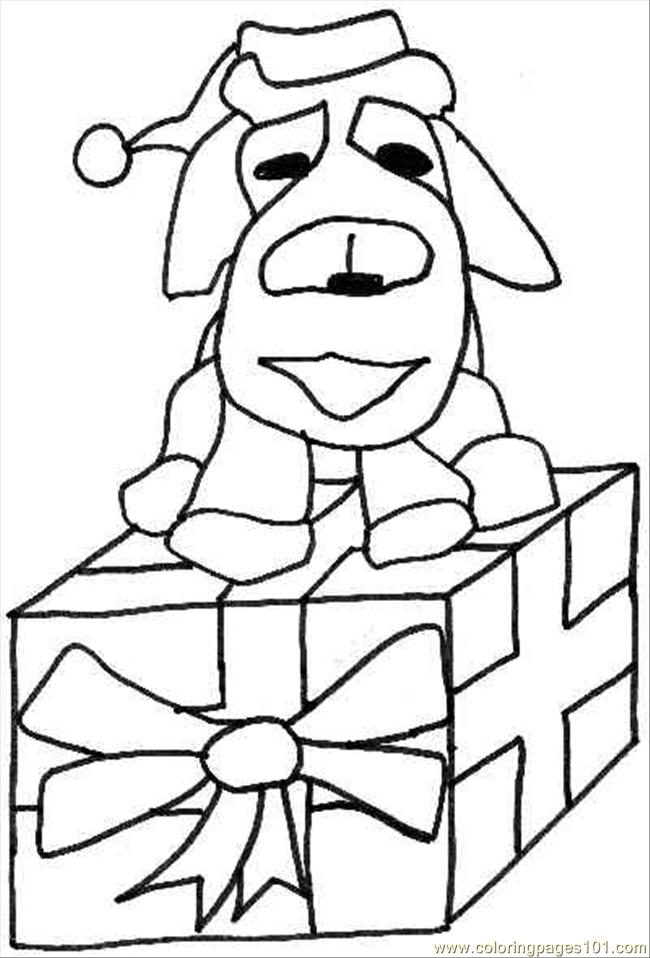 christmas dog coloring pages christmas dog drawing free download on clipartmag dog coloring christmas pages