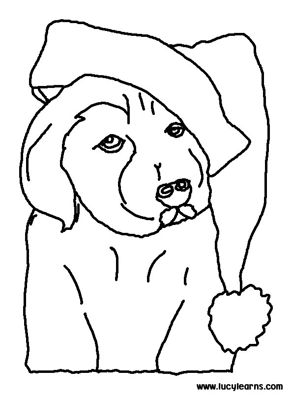 christmas dog coloring pages puppy coloring pages dog pages christmas coloring