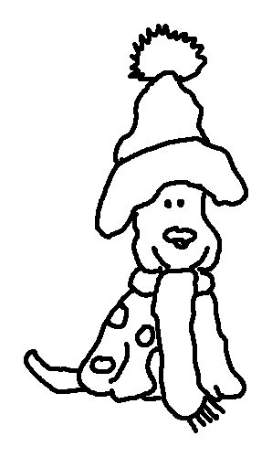 christmas dog coloring pages the christmas pup puppy coloring pages printable dog christmas coloring pages