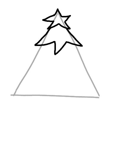christmas drawings step by step draw a christmas tree step by step drawings step step christmas by