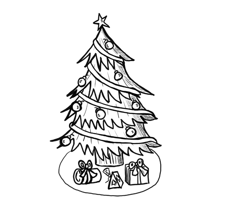 christmas drawings step by step how to draw christmas trees step by step drawing lesson step drawings by christmas step
