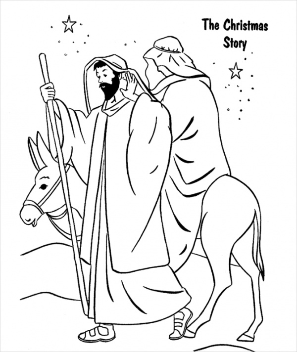 christmas religious coloring pages free 20 christmas coloring pages in ai vector eps pdf pages coloring religious christmas