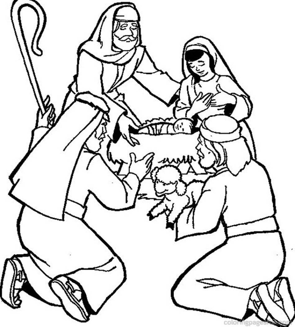 christmas religious coloring pages religious christmas bible coloring pages jesus manger coloring religious christmas pages