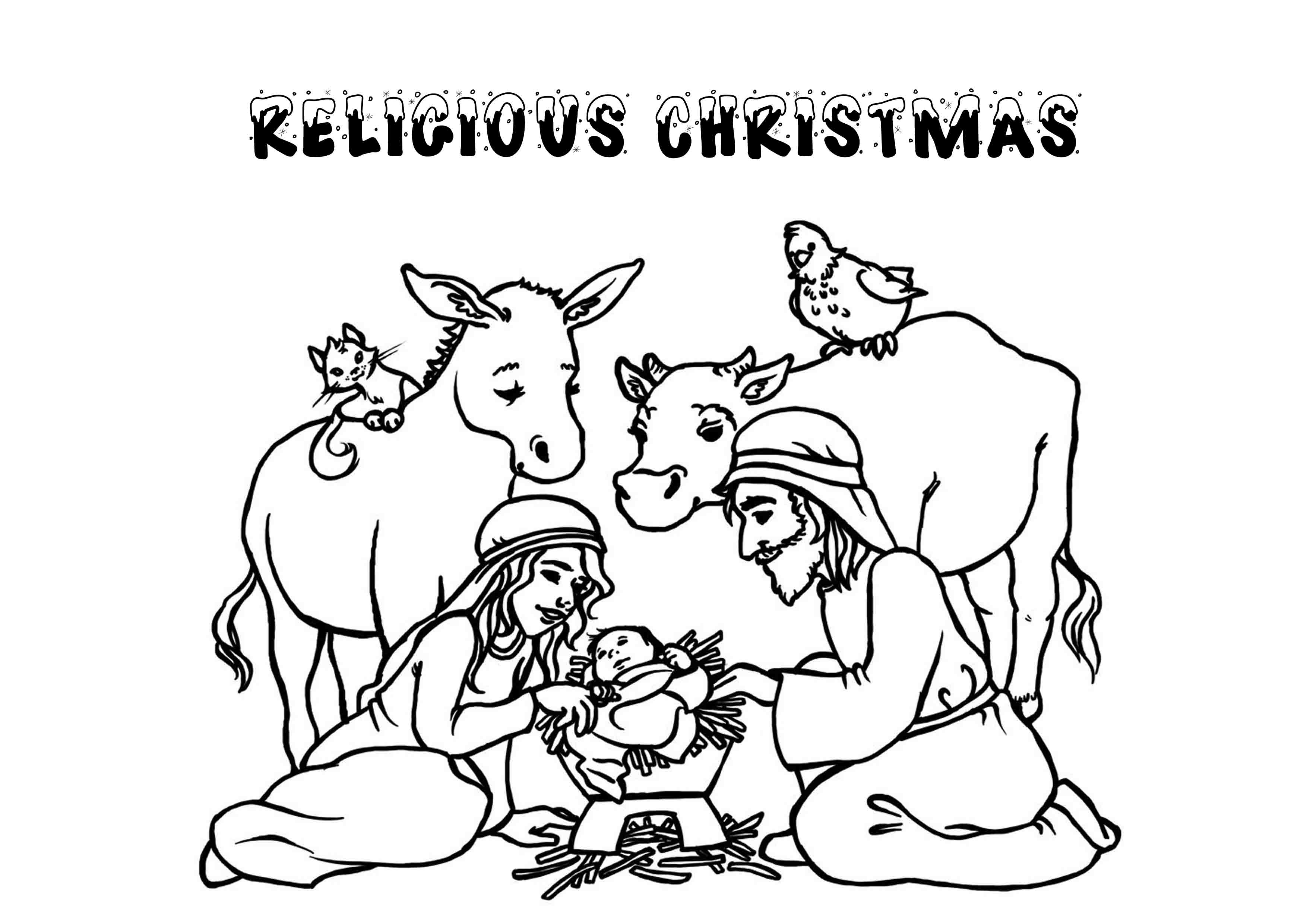 christmas religious coloring pages religious christmas coloring page 19 coloring page free pages christmas coloring religious