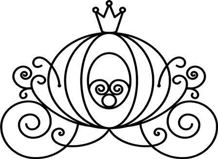 cinderella carriage coloring page cinderella carriage drawing at getdrawings free download carriage page cinderella coloring