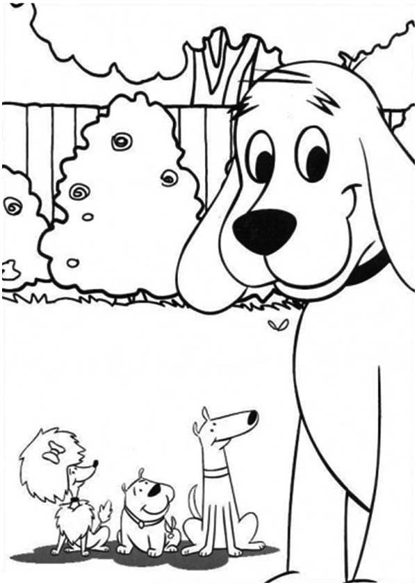 clifford coloring page clifford coloring pages at getdrawings free download page coloring clifford