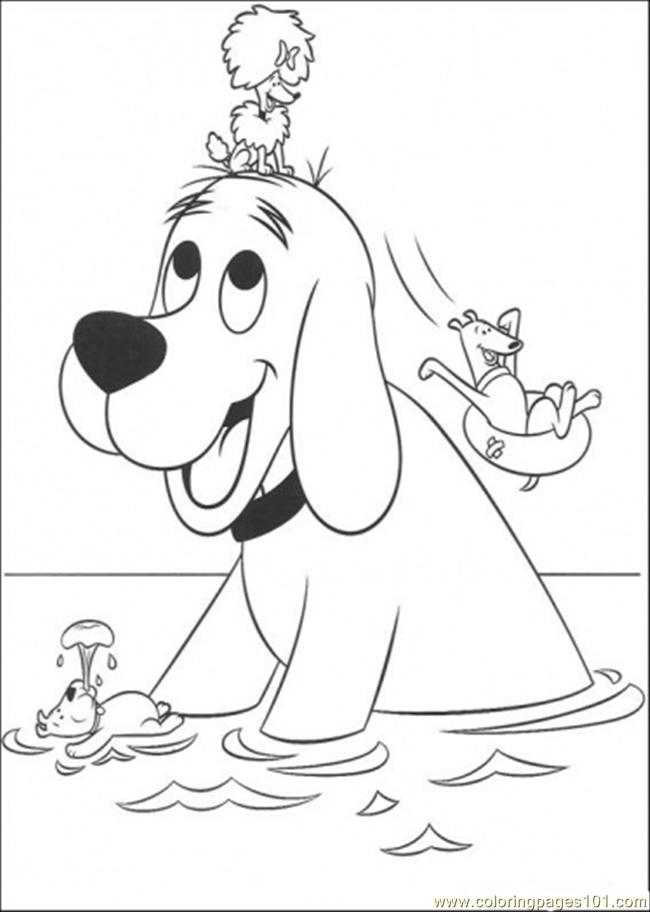 clifford coloring page clifford coloring pages to print coloring home coloring page clifford 1 1