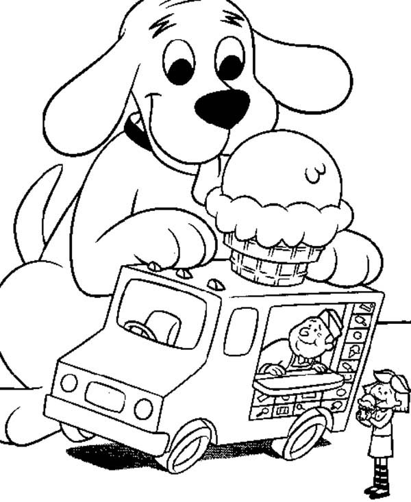 clifford coloring page clifford the big red dog and friends coloring page coloring clifford page