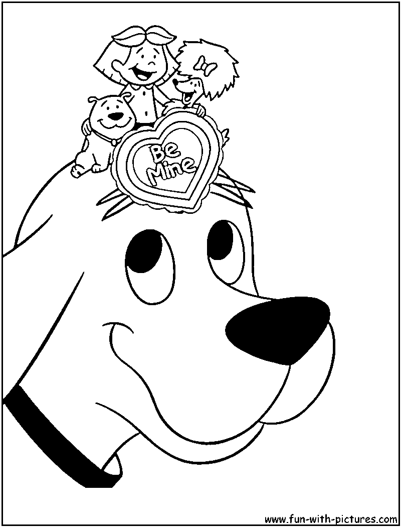 clifford coloring page small dog clifford the big red dog coloring page coloring clifford page