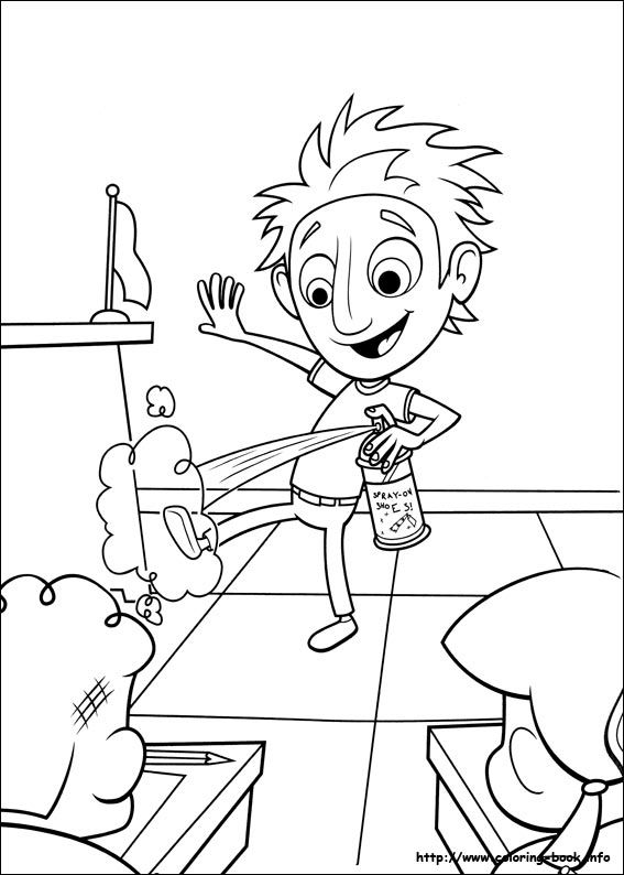 cloudy with a chance of meatballs 2 coloring pages berry from cloudy with a chance of meatballs 2 coloring meatballs pages cloudy 2 coloring with of chance a