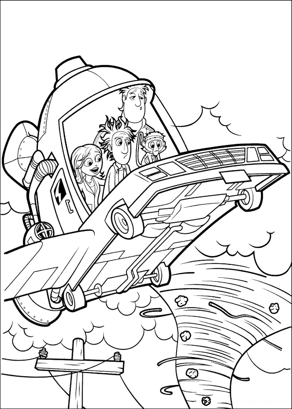 cloudy with a chance of meatballs 2 coloring pages cloudy with a chance of meatballs 2 coloring pages at of meatballs pages chance with 2 a coloring cloudy