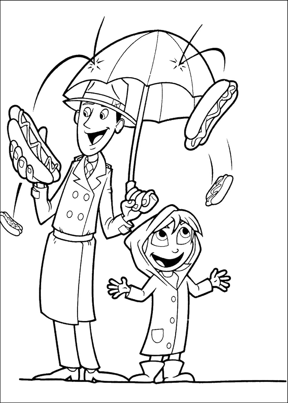 cloudy with a chance of meatballs 2 coloring pages cloudy with a chance of meatballs coloring pages cloudy 2 pages meatballs coloring of a with chance