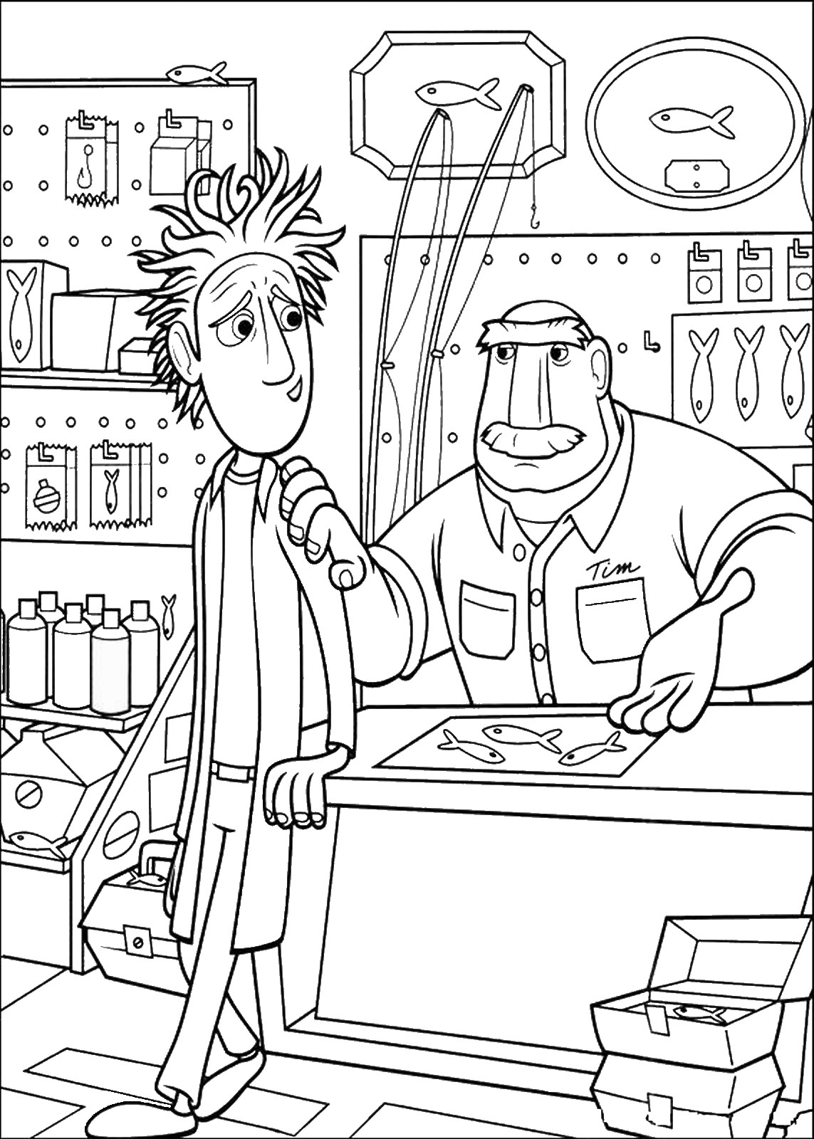 cloudy with a chance of meatballs 2 coloring pages cloudy with a chance of meatballs coloring pages cloudy of chance pages meatballs a coloring 2 with