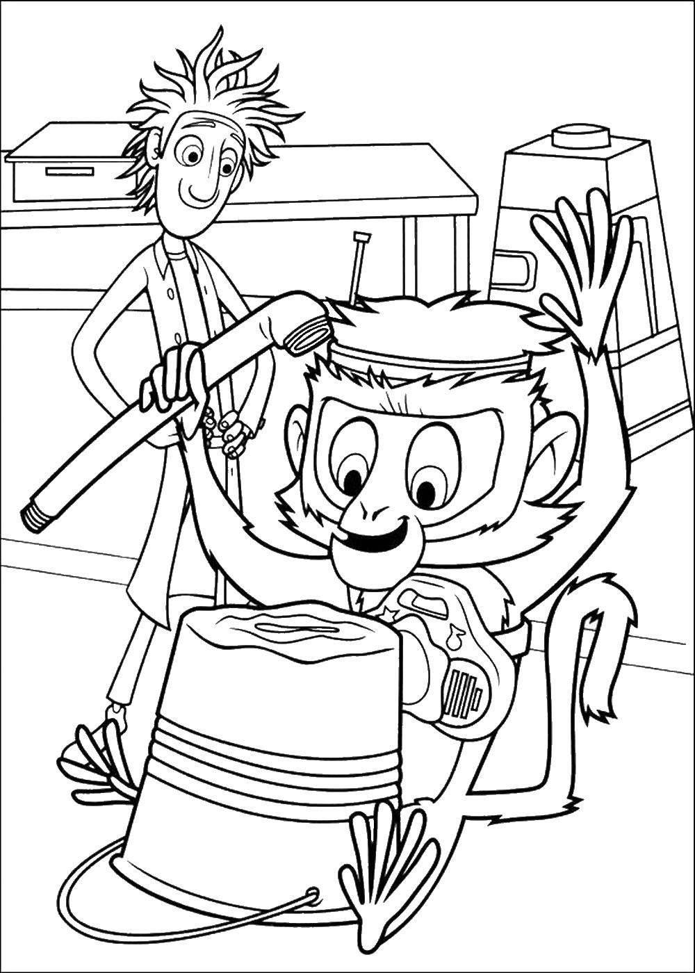 cloudy with a chance of meatballs 2 coloring pages cloudy with a chance of meatballs coloring pages for kids 2 chance of with coloring a cloudy pages meatballs