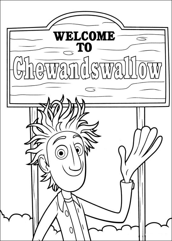 cloudy with a chance of meatballs 2 coloring pages kids n funcom 32 coloring pages of cloudy with a chance coloring cloudy 2 chance meatballs of with pages a