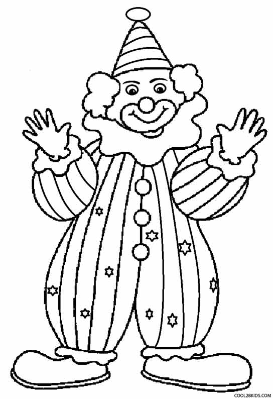 clown coloring page printable clown coloring pages for kids cool2bkids clown page coloring