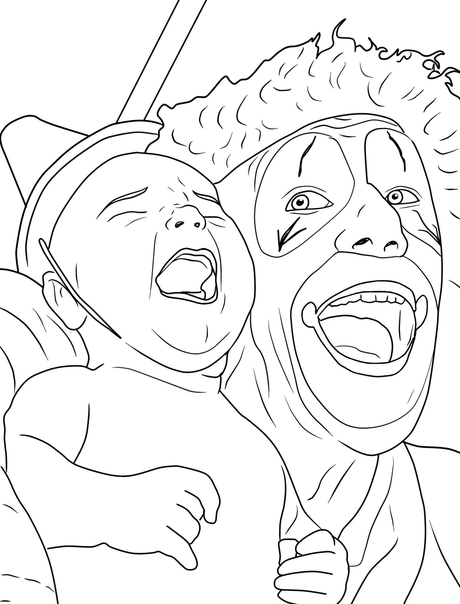 clown coloring pages printable clown coloring page free printable coloring pages clown pages printable coloring