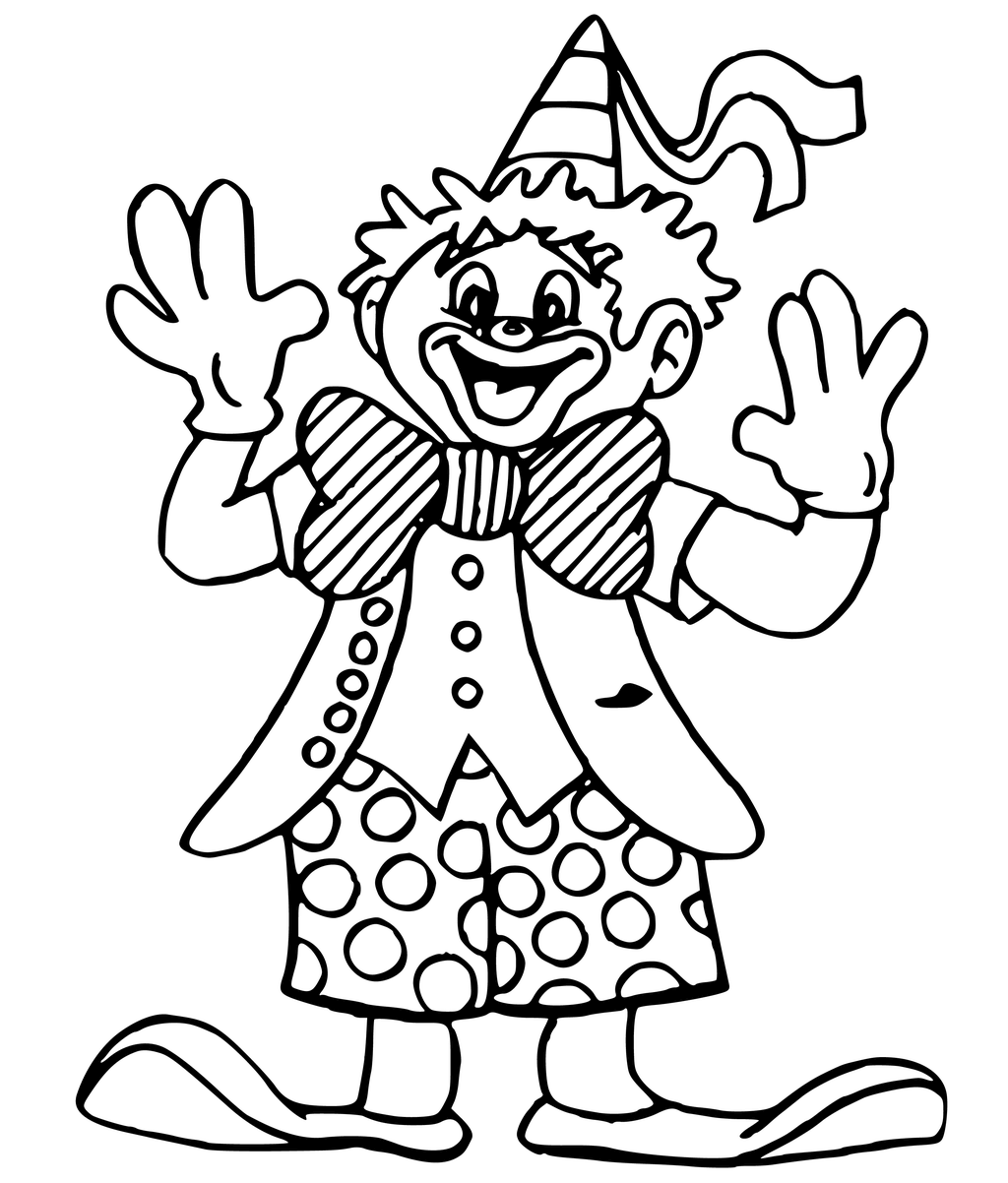 clown coloring pages printable printable clown coloring pages for kids cool2bkids clown pages printable coloring