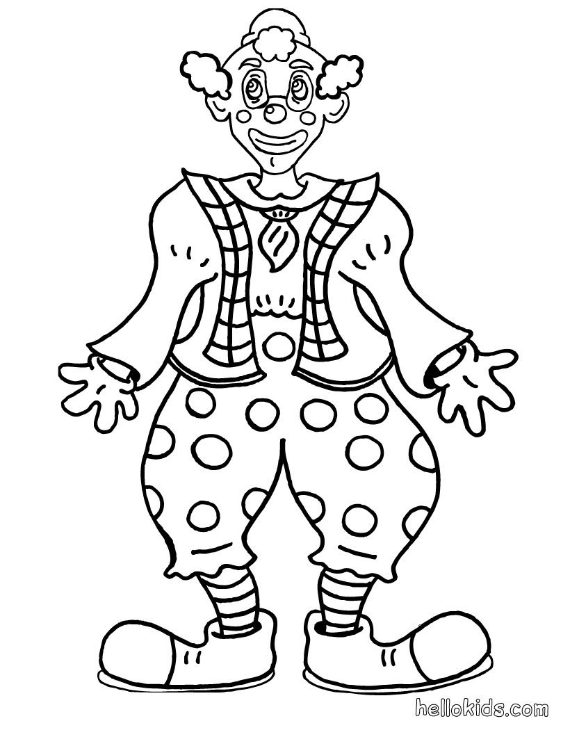 clown pictures to print clown coloring pages to download and print for free clown print pictures to