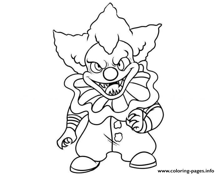 clown pictures to print free printable clown coloring pages for kids pictures clown to print
