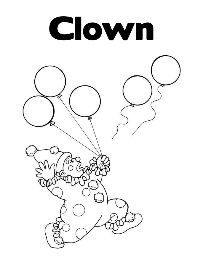 clown pictures to print free printable clown coloring pages for kids pictures clown to print 1 1
