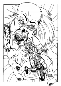 clown pictures to print pennywise the clown coloring pages at getcoloringscom to print pictures clown