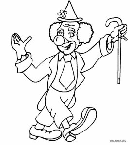 clown pictures to print printable clown coloring pages for kids cool2bkids clown pictures print to