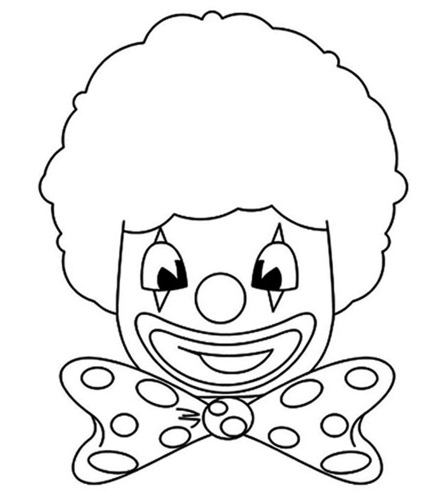 clown pictures to print printable clown coloring pages for kids cool2bkids print clown pictures to