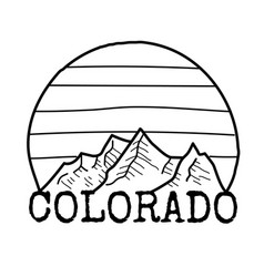 colorado state symbols free printable state coloring pages with state flag some symbols colorado state