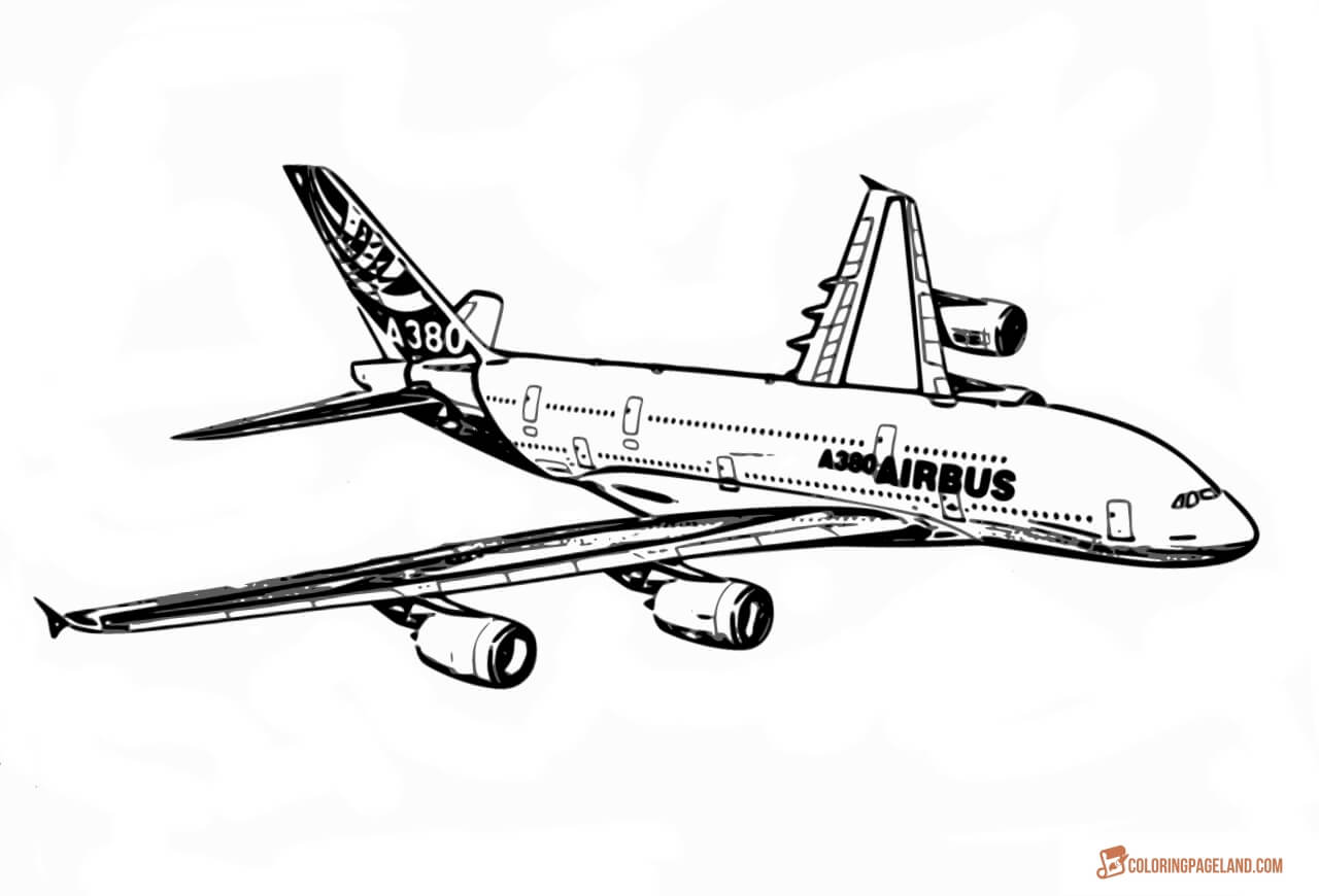 coloring airplane pictures airbus coloring download airbus coloring for free 2019 pictures coloring airplane