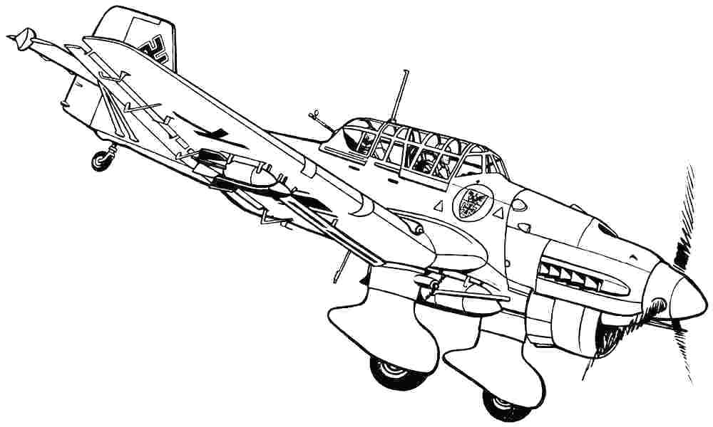 coloring airplane pictures fighter jet coloring pages at getcoloringscom free airplane pictures coloring