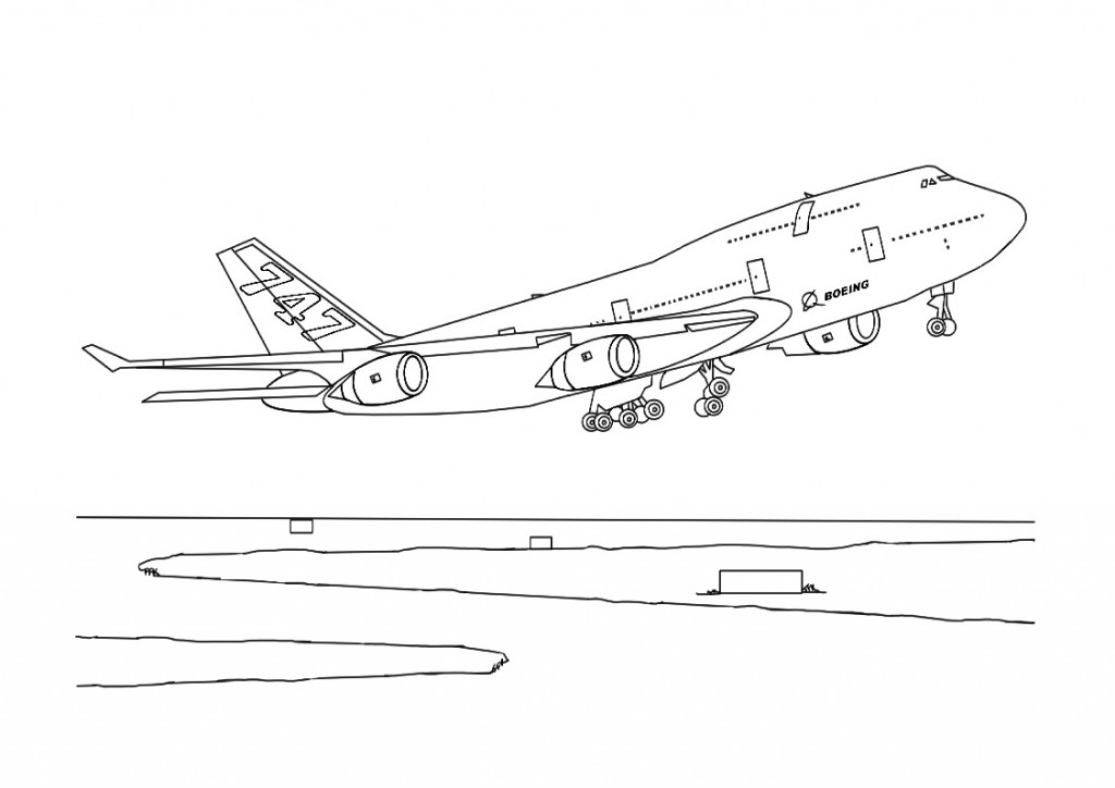 coloring airplane pictures jet coloring pages kidsuki coloring airplane pictures