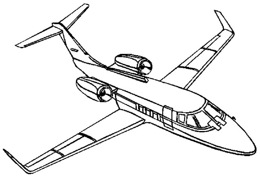 coloring airplane pictures personal jet coloring page download print online coloring pictures airplane