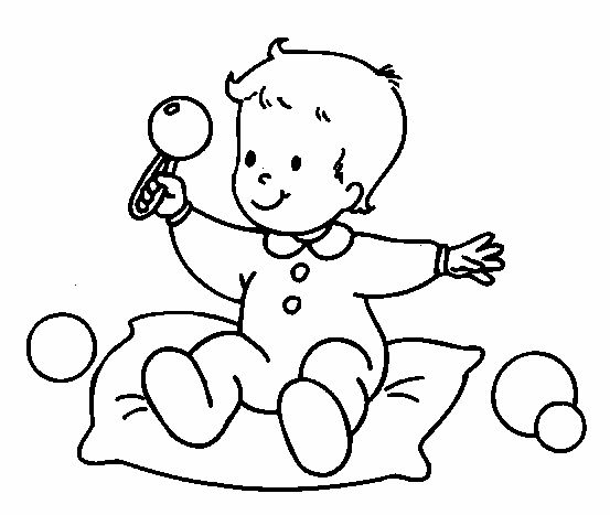 coloring baby baby boy coloring pages getcoloringpagescom baby coloring