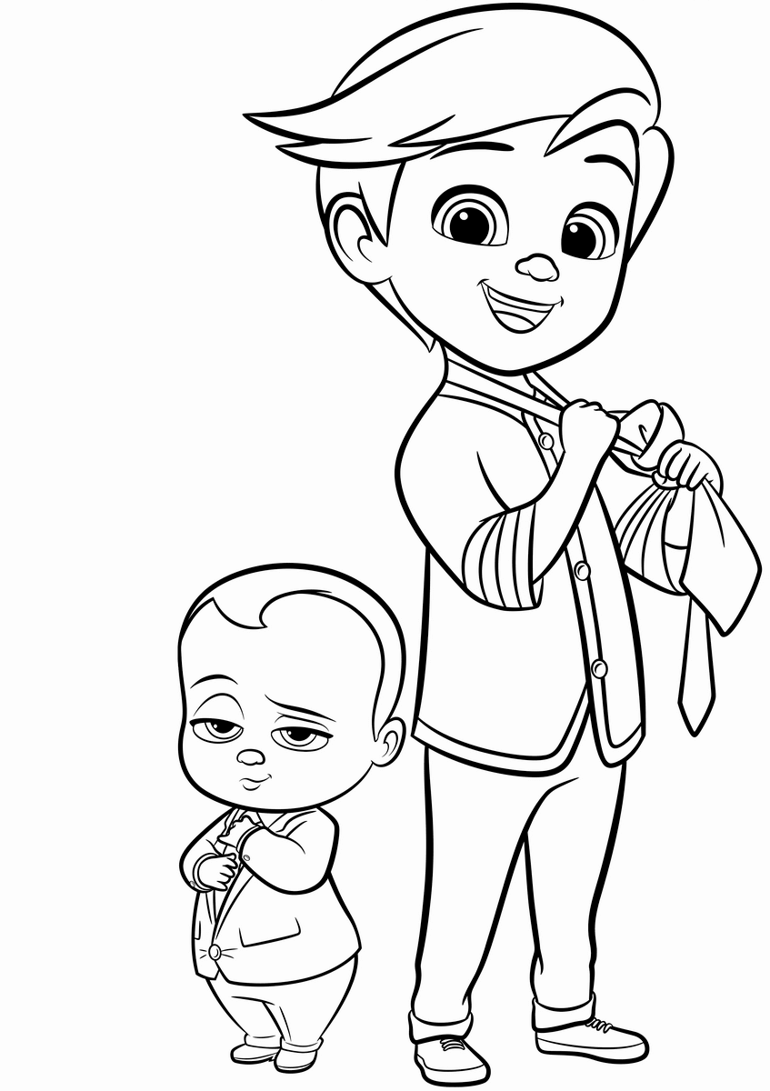 coloring baby boss baby coloring pages best coloring pages for kids coloring baby