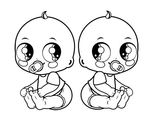 coloring baby free printable baby coloring pages for kids baby coloring 1 3