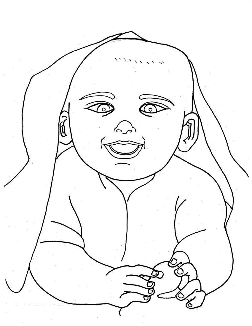coloring baby free printable baby coloring pages for kids coloring baby 1 2