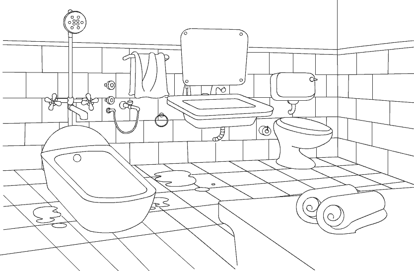 coloring bathroom 79 best bathroom coloring pages for kids updated 2018 bathroom coloring