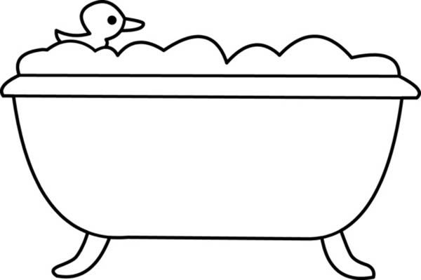 coloring bathroom color bath clipart 20 free cliparts download images on bathroom coloring