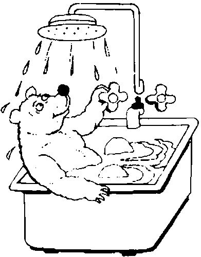 coloring bathroom coloring pages bath animated images gifs pictures coloring bathroom